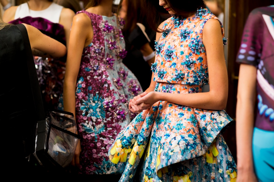 Mary-Katrantzou-SS14-backstage-British-Fashion-Council-1