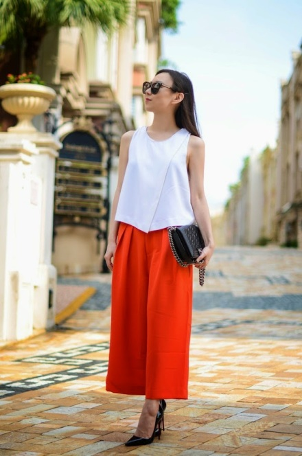 WIFEY OFF DUTY outfit cropped wide leg pants 4